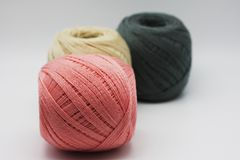 Colorful thread. Royalty Free Stock Photos