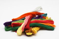 Colorful thread. Royalty Free Stock Image