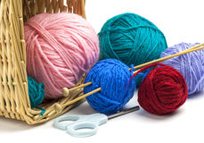 Colorful threads Stock Photos