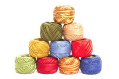 Colorful threads Royalty Free Stock Image
