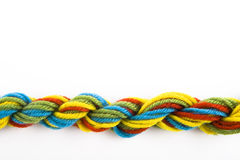 Colorful threads Royalty Free Stock Images