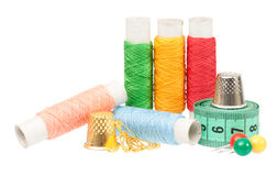 Colorful threads Royalty Free Stock Photos
