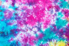 Free Colorful Tie Dye Pattern Abstract Background Royalty Free Stock Image - 135498816
