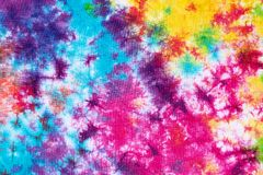 Free Colorful Tie Dye Pattern Abstract Background Stock Image - 135514531