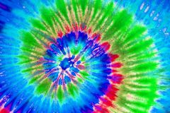 Colorful tie dye pattern abstract background. royalty free stock photography