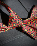 Colorful tie and suit Royalty Free Stock Photo