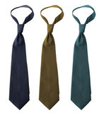 Colorful Ties Stock Photos