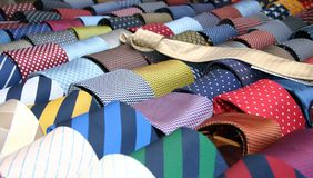 Colorful  ties Royalty Free Stock Image