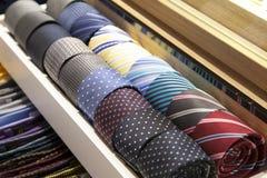 Colorful ties Stock Photo