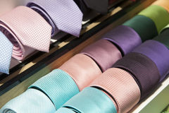 Colorful ties Royalty Free Stock Photography