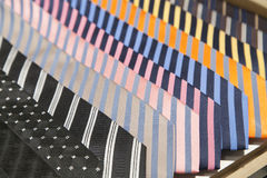 Colorful ties Stock Image