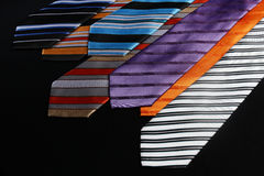Colorful ties  for men Royalty Free Stock Photo