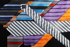 Colorful ties  for men Stock Images