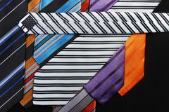 Colorful ties  for men Royalty Free Stock Images