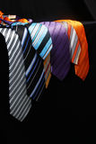 Colorful ties  for men Stock Photography