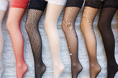 Colorful tights Stock Images