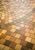 Colorful Tile Floor for Background Royalty Free Stock Images