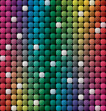 Vector colorful tile mosaic background Royalty Free Stock Images