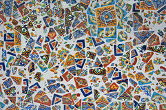 Colorful tile Mosaic Stock Photo