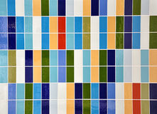 Colorful Tile Pattern Royalty Free Stock Photos
