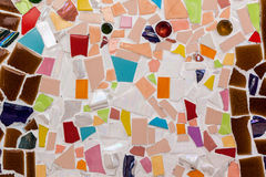 Colorful tile pattern background Royalty Free Stock Images