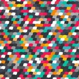 Colorful tile seamless pattern Royalty Free Stock Photo