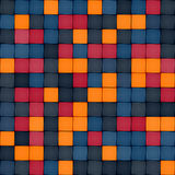 Colorful tile seamless pattern Royalty Free Stock Image