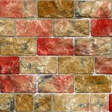 Colorful tile wall Royalty Free Stock Images