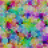 Colorful tiled background Royalty Free Stock Image