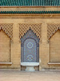 Colorful Tiled Mosaic Moroccan Fountain Royalty Free Stock Photos