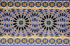 Colorful tiled of Spain square in Mendoza Royalty Free Stock Image