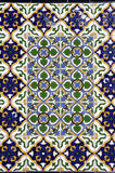 Colorful tiled of Spain square in Mendoza Stock Images