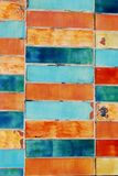 Colorful tiles background Royalty Free Stock Photography