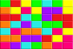 Colorful Tiles 1 Royalty Free Stock Photos