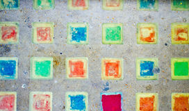 Colorful tiles Royalty Free Stock Image