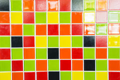A Colorful tiles texture for background. A Multicolor tiles texture for background Stock Photos