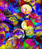 Colorful time Royalty Free Stock Photo