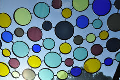 Colorful tinted glass Stock Photos