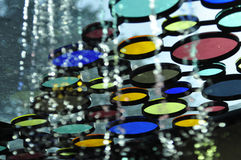 Colorful tinted glass design Royalty Free Stock Photos