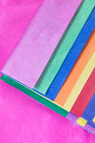 Colorful Tissue Paper Stock Images