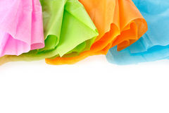Colorful tissue paper Stock Photo