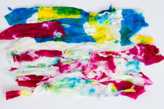 Colorful tissue paper Royalty Free Stock Photography