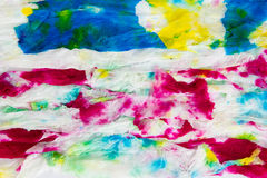 Colorful tissue paper Royalty Free Stock Photos