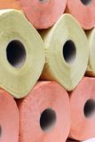 Colorful toilet paper Royalty Free Stock Photo