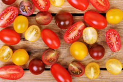 Colorful tomatoes Royalty Free Stock Photo