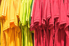 Colorful tops Royalty Free Stock Photography