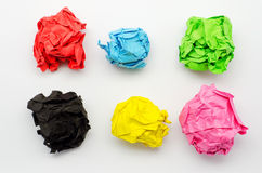 Colorful torn Paper Royalty Free Stock Images