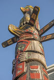 Colorful totem pole Stock Photography