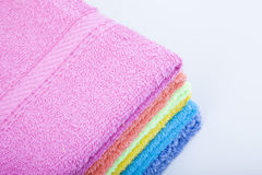 Colorful towel Royalty Free Stock Image