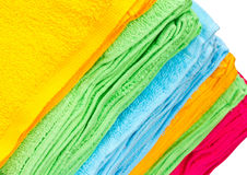 Colorful towels. Royalty Free Stock Photo